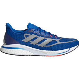 adidas Supernova + Shoes Men, football blue/silver metal/solar red